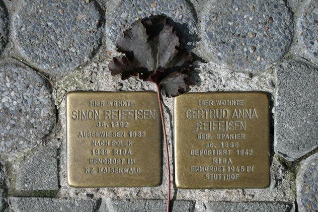 Stolpersteine Und Gedenktafeln Freizeitportal Kreis